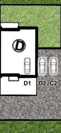 LISMAR - domy szeregowe Dojazd Gniezno DOM D - (parking D1 i D2)