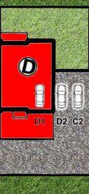 LISMAR - domy szeregowe Dojazd Gniezno DOM D - rezerwacja (parking D1 i D2)