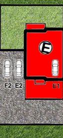 LISMAR - domy szeregowe Dojazd Gniezno DOM E - rezerwacja (parking E1 i E2)