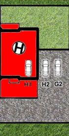 LISMAR - domy szeregowe Dojazd Gniezno DOM H - rezerwacja (parking H1 i H2)