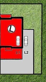LISMAR - domy szeregowe Dojazd Gniezno DOM L - rezerwacja (parking L1 i L2)